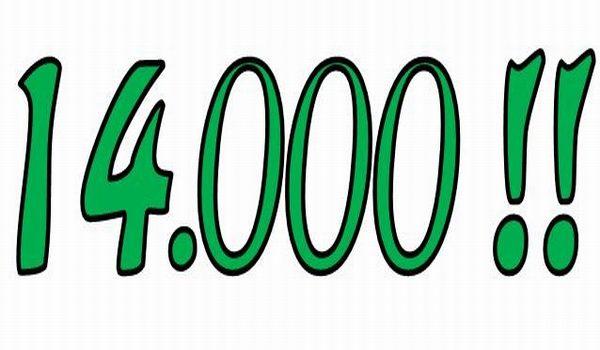 Новая отметка в $14,000 достигнута, что будет дальше