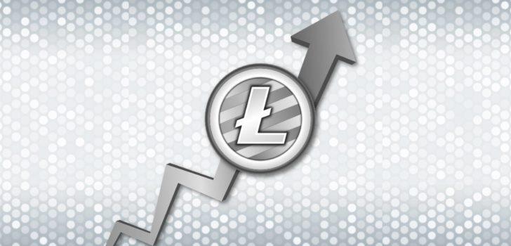 Цена на Litecoin достигает $ 340 и показывает рост за день свыше 90%