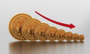 Стоимость биткоина снизилась до $7200