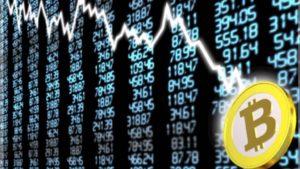 Цена биткоина снижается до $8000: рынок продолжает падение