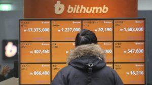 Доход криптобиржи Bithumb вырос в 2017 году в 171 раз