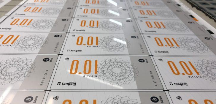 В Сингапуре запущены в продажу физические биткоин-банкноты