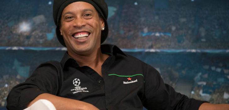 Роналдиньо запускает криптовалюту для разработки 300 виртуальных стадионов