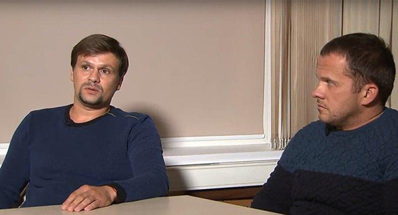 Александр Петров и Руслан Боширов интервью