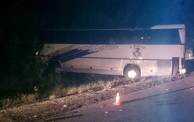 ДТП с автобусом на Кубани
