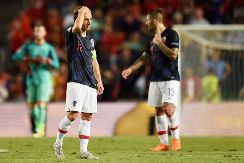 Испания Хорватия Лига наций 6-0