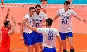 Россия вышла в третий этап Чемпионата мира по волейболу 2018