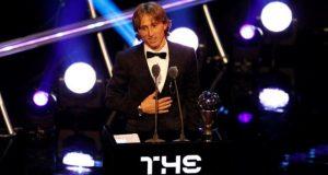 Лука Модрич получил «Золотой мяч The Best 2018»