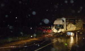 Авария случилась на трассе под Ярославлем