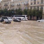 ливень наводнение в Баку