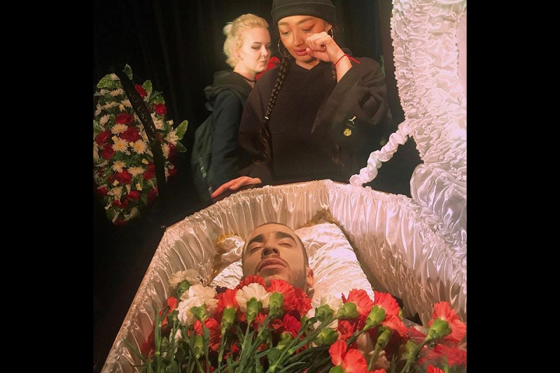 похороны рэпера Хаски