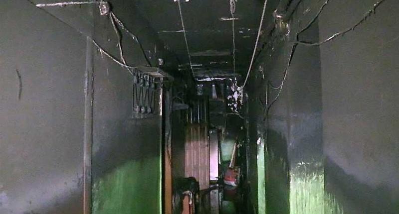 пожар в общежитии в Екатеринбурге