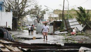 Тайфун Мангхут бушует в Китае
