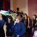 церемония прощания с Геннадием Гагулия в Гудауте