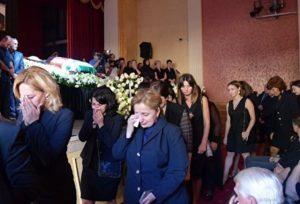 Церемония прощания с Геннадием Гагулия прошла в Гудауте