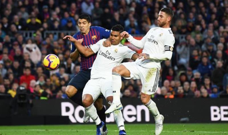Барселона Реал Мадрид 5-1