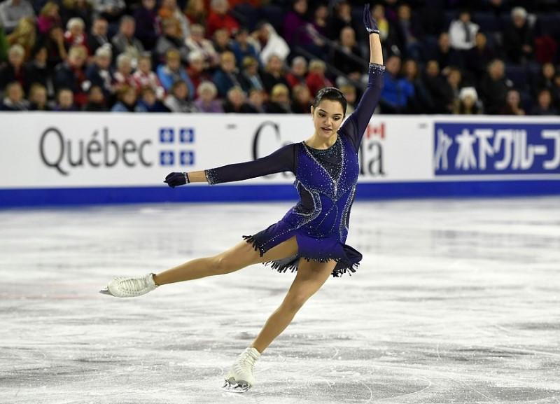Евгения Медведева Skate Canada 2018