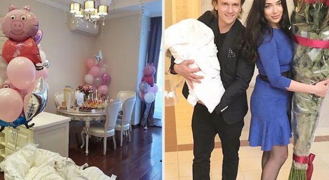 Глеб Матвейчук поделился фото с новорожденной дочкой