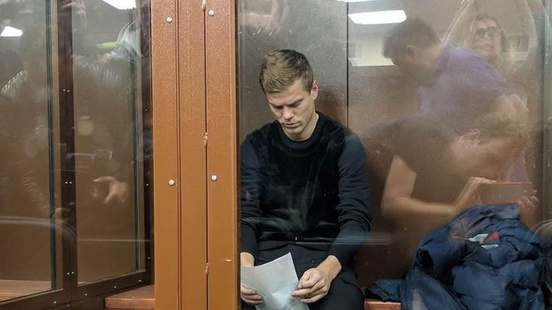 Кокорин и Мамаев арест