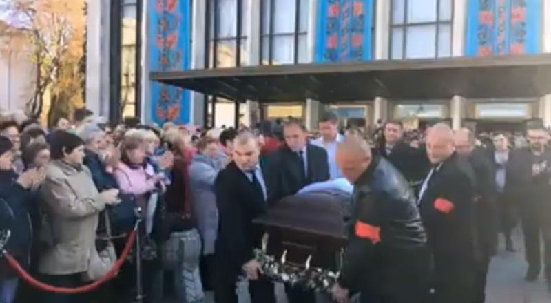 Марина Поплавская Дизель-шоу похороны