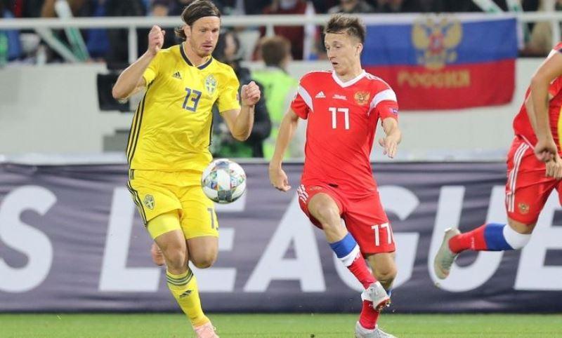 Россия Швеция 0-0