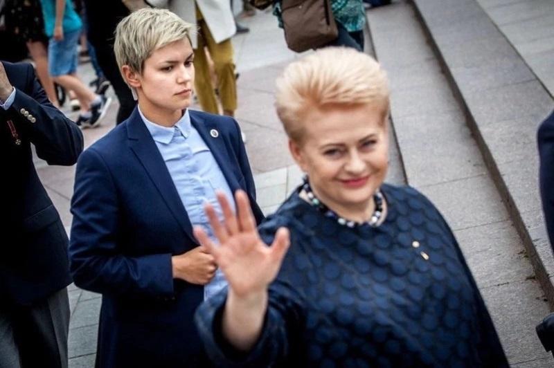 Симона Даумантене телохранитель президента Литвы