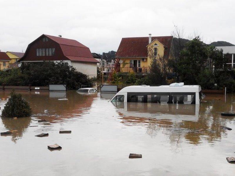 Сочи Туапсе наводнение