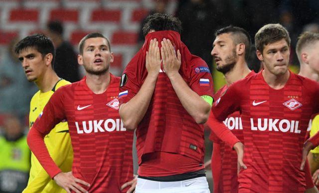 Спартак Вильярреал 3-3