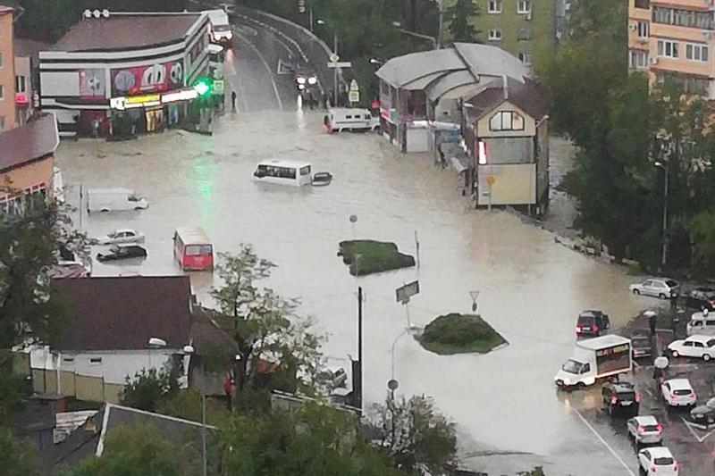 Туапсе потоп