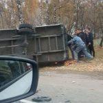 авария в Дмитровском районе с автобусом