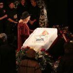 на похоронах Караченцова