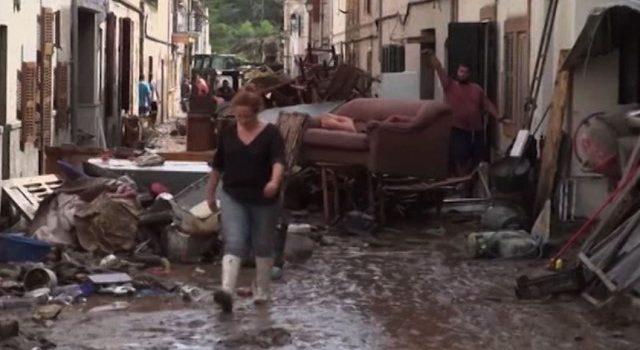 Наводнение произошло на Майорке