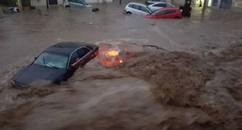 наводнение на Майорке