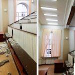 обрушение потолка в СибГМУ Томск