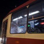 обстрел трамвая в Санкт-Петербурге