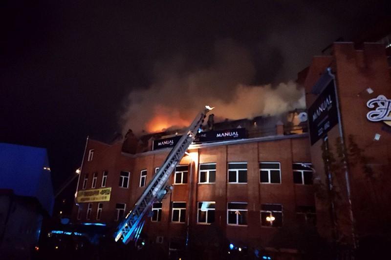 пожар Томск стриптиз бар