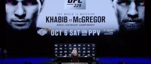 Пресс-конференция Хабиба и Конора Макгрегора