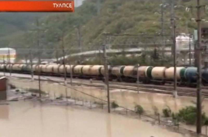 ситуация в Туапсе и Сочи после наводнения