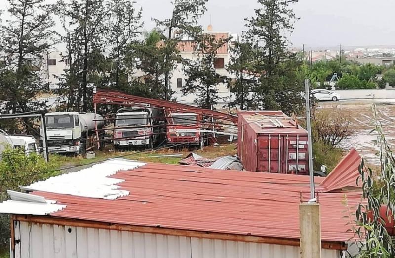 торнадо на Кипре
