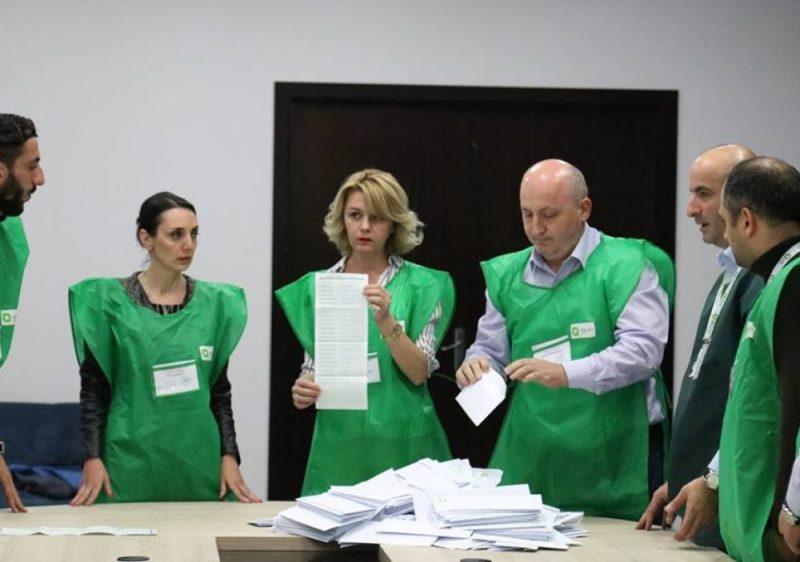 выборы в Грузии