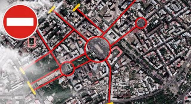 Какие улицы будут закритыми в Ереване