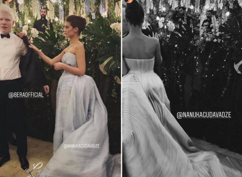 Бера Иванишвили и Нануки Гудавадзе свадьба