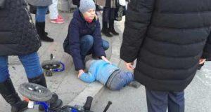 В Екатеринбурге совершили наезд на пешеходов