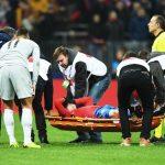 Марио Фернандес травма в игре с Ромой
