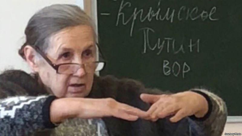 Школьники Путин вор флешмоб