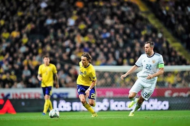 Швеция Россия 2-0