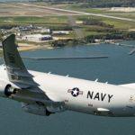 американский самолет над Керченским проливом