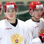 хоккей молодежка Россия Канада