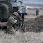 обстрел ДНР Украина