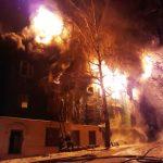пожар на Куйбышева в Пензе